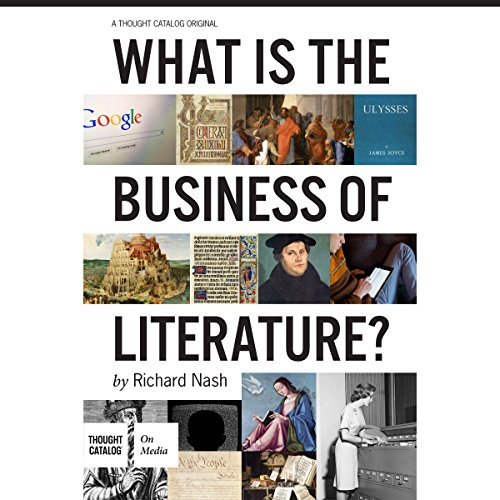 What Is the Business of Literature? audiobook cover art