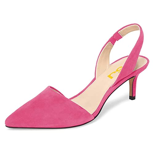 Women's Back Women's Sling Pink Shoes Pink iuZOPXkT