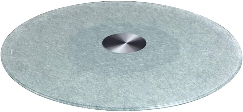 Max 57% OFF Even Heavy Duty Lazy Max 84% OFF Susan Rotating Glass Round Tray Tempered