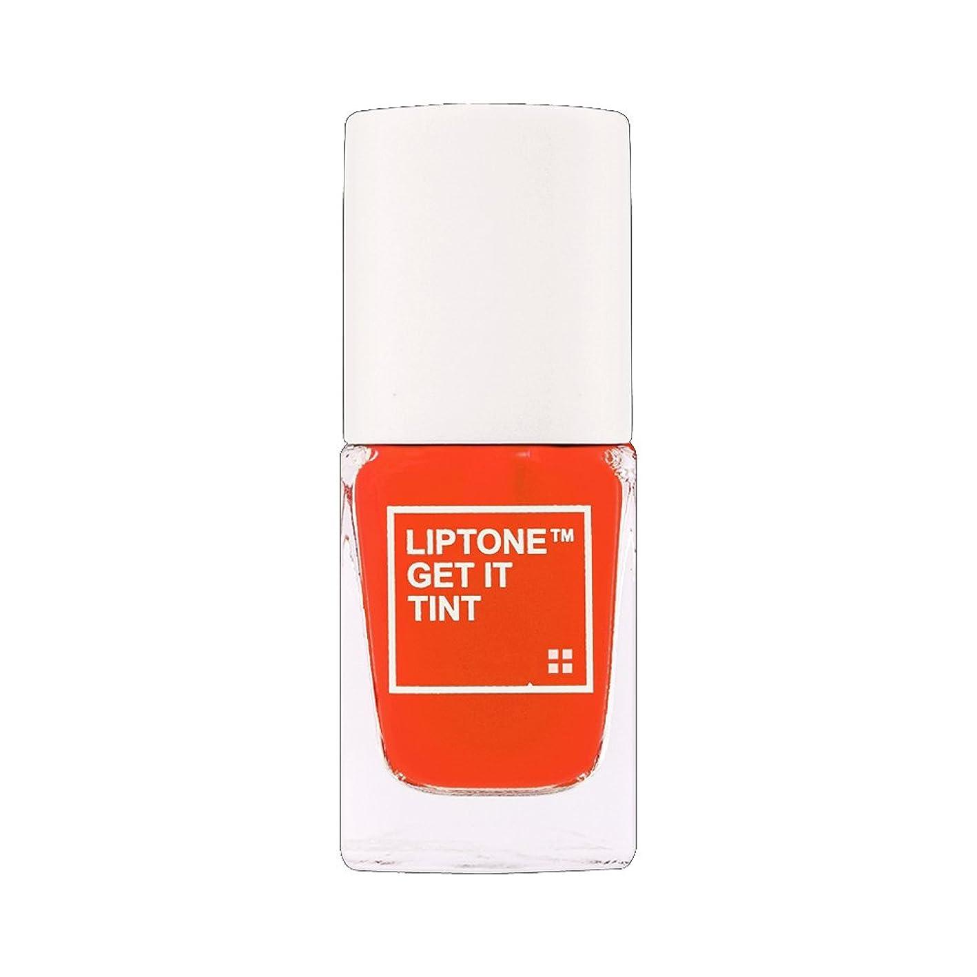 ホールドオール追加繕う(3 Pack) TONYMOLY LipTone Get It Tint - 08 Oops Orange (並行輸入品)