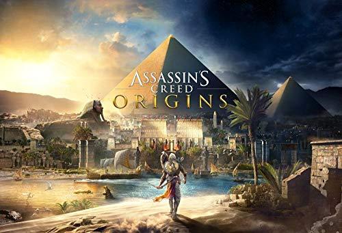 XYDH Puzzle De Madera De 1000 Piezas para Adultos,Juego Assassin'S Origins Juegos Familiares,Rompecabezas De Madera para Aliviar EstréS Juego Intelectual/75x50CM