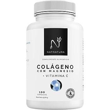 Colageno con Magnesio 4-EN-1 (60 DIAS), Acido Hialuronico ...
