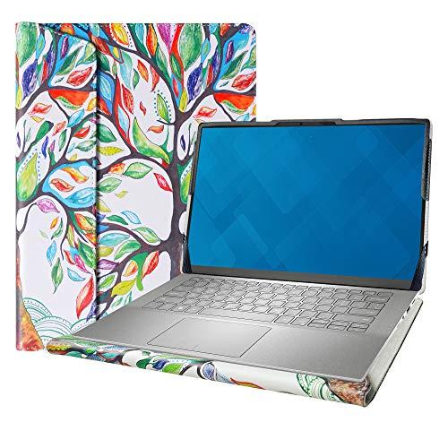 """Alapmk Specialmente Custodia Protettiva per 14"""" ASUS Q427FL/Asus Chromebook Flip C436/Asus ZenBook 14 UX425JA & dell Inspiron 14 7490 Laptop[Non compatibili con: Latitude 7490/Asus C434],Love Tree"""