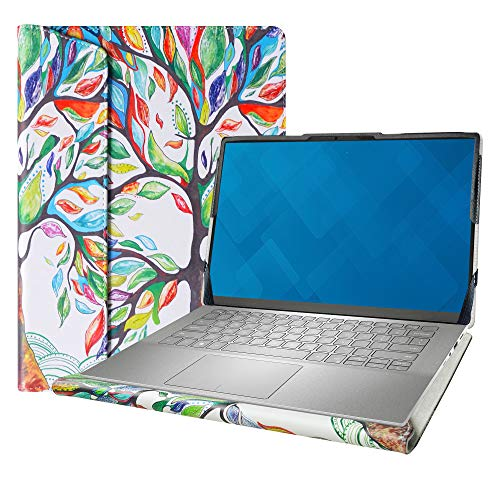 Alapmk Diseñado La Funda para 14' ASUS Q427FL/Asus Chromebook Flip C436/Asus ZenBook 14 UX425JA & DELL Inspiron 14 7490 Laptop[No Compatible con: Latitude 7490/Asus C434/Asus Q406DA Q407IQ],Love Tree