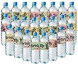 Lot de 24 étiquettes pour bouteille d'eau Alice au pays des merveilles - 8 différents designs étonnants.