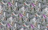 Tootal Fabrics - Popelin Baumwollstoff mit Affen und