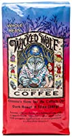 Raven's Brew Wicked Wolf Whole Bean Coffee, Dark Roast - Full Body of Currant and Spice,12 Ounce,Pack of 1