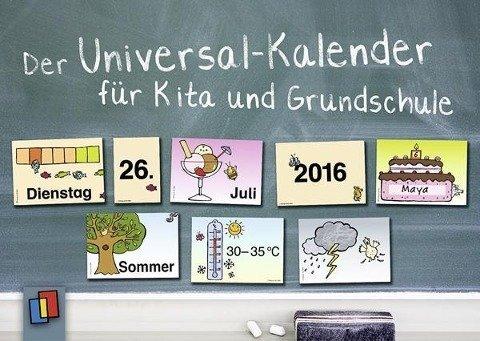 Der Universal-Kalender für Kita und Grundschule - 134 Karten zum individuellen Zusammenlegen