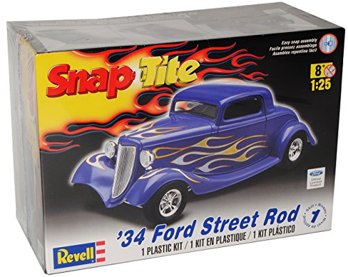 Ford Street Hot Rod 1934 85-1943 Bausatz Kit 1/24 1/24 Revell Usa Modellauto Modell Auto