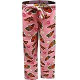 Underboss Women's Toy Story Mr. Potato Head Hot Potato Pink Plush Lounge Pants (Large)