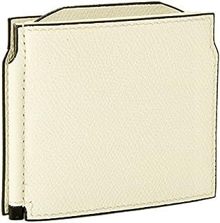 Valextra(ヴァレクストラ) 財布 メンズ グレインレザー マネークリップ ホワイト V0L54-028-000WRD[並行輸入品]