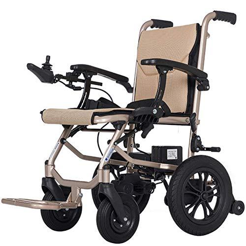 Lyl Leichte Faltbare Elektro-Rollstuhl intelligenter Rollstuhl Doppel Leistungsstarke Motor Tragbarer Transit Reisen für ältere Mobilität