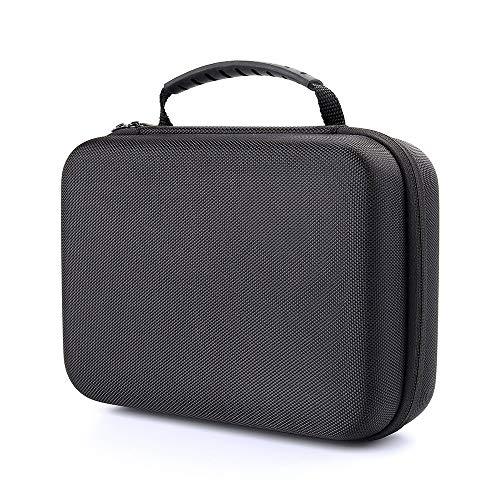 TOOGOO Custodia per Registratore Portatile Professionale per Zoom H1, H2N, H5, H4N, H6, F8, Q8 Registratori di Musica, Caricabatterie E Adattatore per Treppiede per Microfono