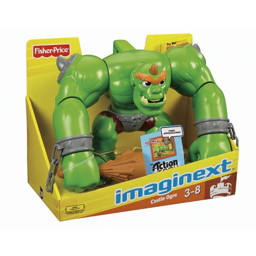 Imaginext Fisher-Price Castle Ogre (Age: 3 - 8 Years)