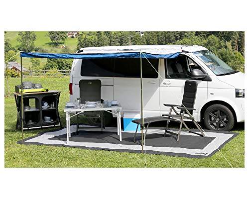 Brunner campingartikelen open haard en caravan, donkergrijs/lichtgrijs, 450 x 250 cm