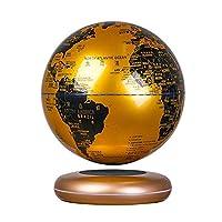 """ライフデコレーショングローブフローティング8""""磁気浮上反重力回転世界地図子供向け教育ギフトオフィスデスクデコレーション"""