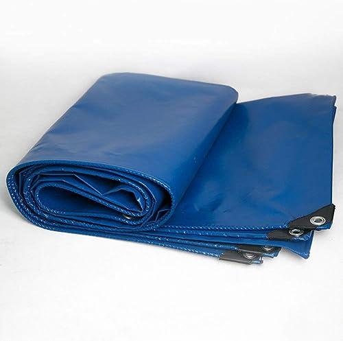 Bache épaissir écran Solaire Extérieur Multifonctionnel Imperméable à l'eau Ombre Toile Portable Plusieurs Tailles Peuvent être Personnalisés GMING (Couleur   Bleu, Taille   4x5M)