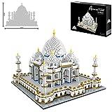 Blocs De Construction Pour Enfants, Taj Mahal, Monument Mondialement Connu 3950 + Pcs...