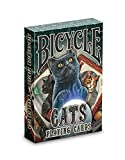 Bicycle Cats Playing Cards Designed by Lisa Parker, Black
