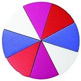 Urban Beauty United Wonder Wheel - Rueda de Esponjas Aplicadoras 21 G, Multicolor