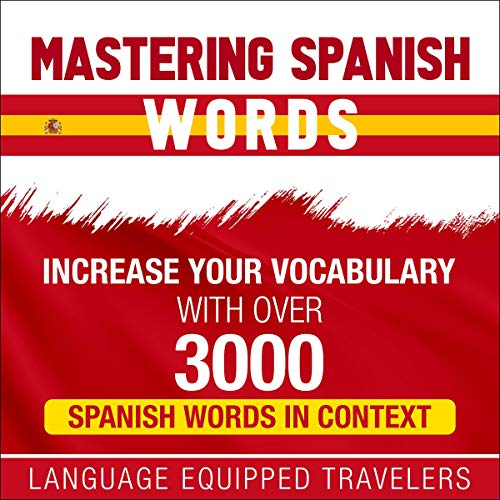 Mastering Spanish Words audiobook cover art