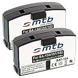 2X Batería BA150BA151BA152para Sennheiser Set./RI./RS./HDI./HDR.//AKG.-Ver Lista.