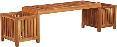 2X Wooden Bench garden outdoor indoor 150x38.5x50 cm ALSO COSTUM MADE!