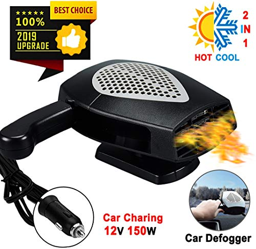 【New Upgrade】Portable Car Heater Defogger, Car 12V...