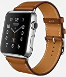 APPLE(アップル) Apple Watch Hermes シンプルトゥール ステンレス ヴォー・バレニア(フォーヴ) レザーストラップ MLCN2J/A