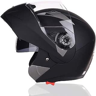 Docooler Motorcycle Helmet Flip Up Double Visors Helmet Racing Full Face Safe Moto Helmet for Men Women