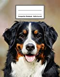 Composition Notebook - Bullet Journal: Bernese Mountain Dog | 109 pages 8.5'x11' | Dotted Journal | Grid Notebook | Gift For Kids Teenager Adult Teacher Student | Journal | Dog Lover