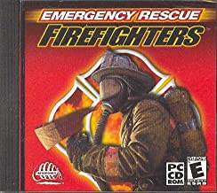Emergency Rescue Firefighters PC video game CD