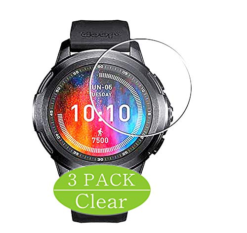 Vaxson 3-Pack Screen Protector Compatible with Xiaomi Jeep Smartwatch smart watch, HD Film Protector [NOT Tempered Glass] Flexible Protective Film