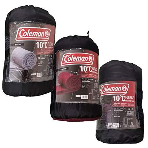 コールマン Coleman フリース スリーピングバッグ 封筒型 (レッド)