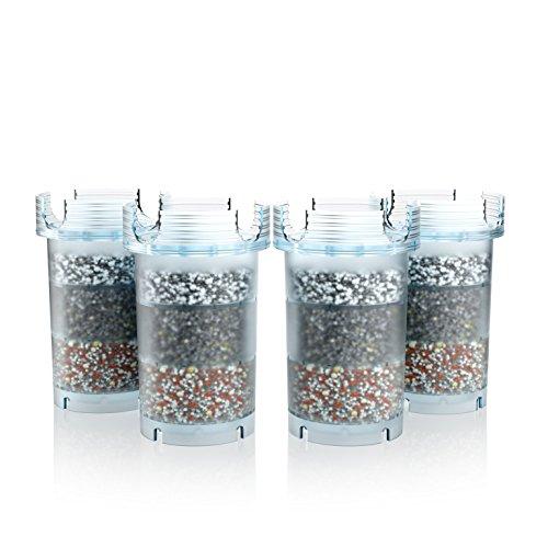 MAUNAWAI® Wasserfilter Premium Kini - Wasserfilter PI-Filterkartuschen für 12 Monate - 4 Stück (Jahrespaket)