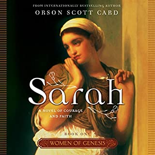 Sarah audiobook cover art