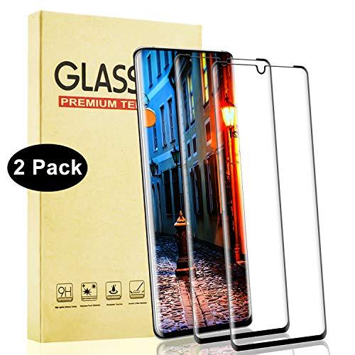 Lixuve Protector de Pantalla Cristal Templado para Huawei P30 Pro, 2 Unidades Cobertura Toda Protector Pantalla de Vidrio Templado, 3D Touch Compatible, 9H Dureza, Fácil Instalación, Anti-Burbuja