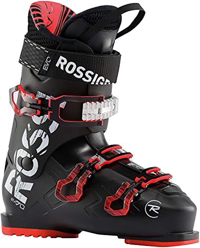 Rossignol Evo 70 Ski Boots Mens Sz 12.5 (30.5) Black/Red