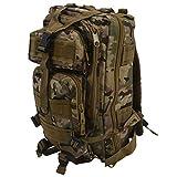 Cuasting 30L - Mochila de acampada, senderismo, trekking Bag – CP Camuflaje
