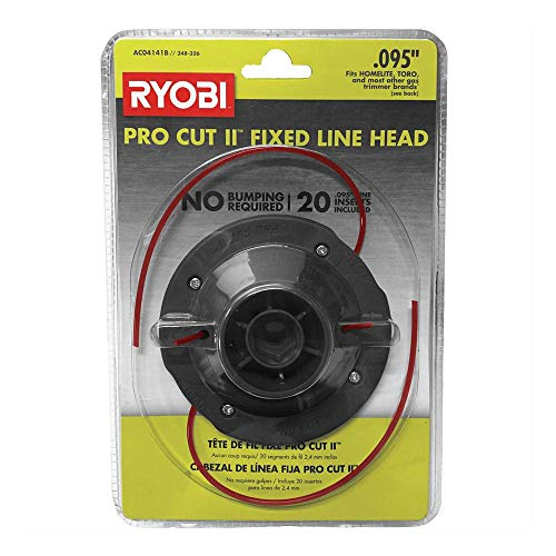 RYOBI AC04141B Universal Pro Cut ll 0.095 in. Fixed Line String Head