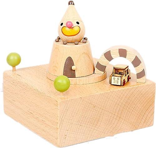 ahorra 50% -75% de descuento SDADHFRGE rojoating Wooden Wooden Wooden Music Box Wooden Octave Box Gift Box (Song Name  Sky City)  los nuevos estilos calientes