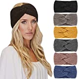 DRESHOW Crochet Ear Warmer Headband Soft knit...