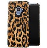 Leopard Fur Pattern Dünne Handy Schutzhülle Hardcase Aus Hartplastik Hülle Kompatibel mit Samsung Galaxy S9 Handyhülle Hülle Cover
