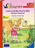 Lara und die freche Elfe auf dem Ponyhof - Leserabe 1. Klasse - Erstlesebuch für Kinder ab 6 Jahren (Leserabe - 1. Lesestufe) - Anja Kiel