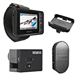 REMOVU Essential Bundle Pack of R1+ Remote viewer and M1A1 Mic and Receiver, plus bonus R1C cradle for R1+