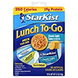 StarKist Lunch To-Go Chunk Light Pouch - Mix Your Own Tuna Salad - (Packaging 4.1 Ounce (P...
