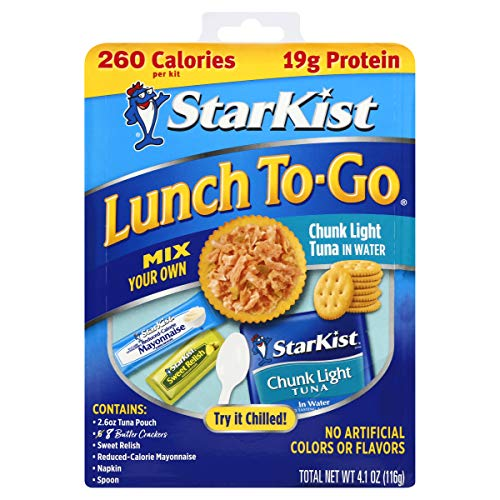 StarKist Lunch To-Go Chunk Light Pouch - Mix Your Own Tuna Salad - (Packaging 4.1 Ounce (Pack of 12)