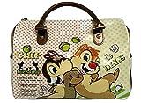 Cip & Ciop - Chip And Dale Borsa Bauletto Grande Marrone Walt Disney