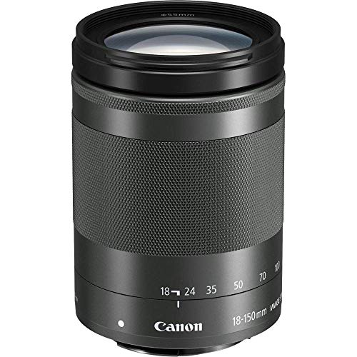 Canon EF-M 18-150mm F3.5-6.3 IS STM lens, 55mm filterdraad,zwart