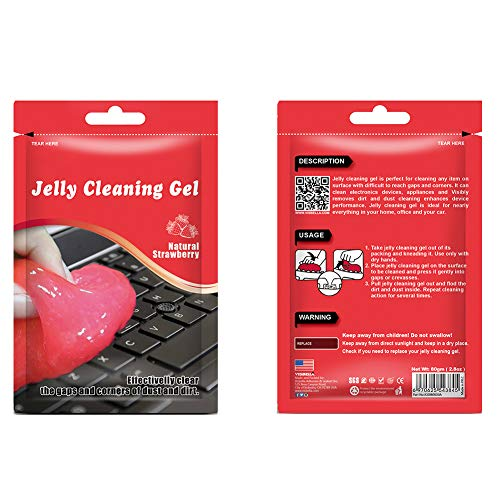 Ningb Electronic Cleaning Gel, Jelly Cleaning Glue Sticky Gel Stofzuiger Gereedschappen voor Camera Toetsenbord Ventilator